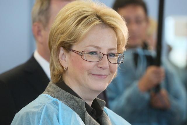 Вероника Скворцова сохранила пост министра здравоохранения