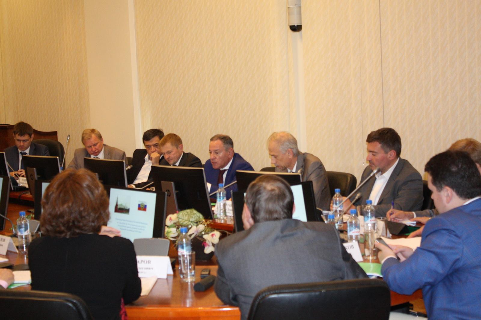 На площадке Корпорации МСП состоялось заседание Правления Ассоциации НП «ОПОРА»